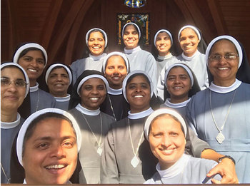 Zeal to share Eucharistic love brings sisters to Corpus Christi
