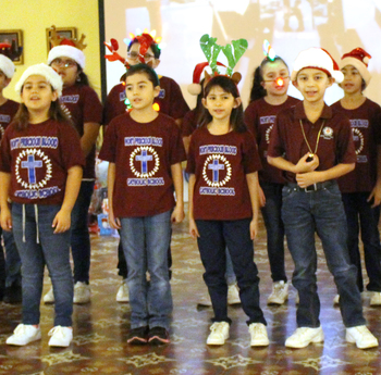 Prison Ministry provides a Christmas party for children