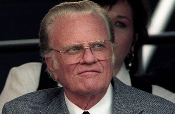USCCB president offers condolences on the death of the Rev. Billy Graham