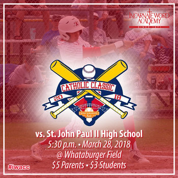 2018 Catholic Classic rescheduled for tonight at 5:30 p.m.