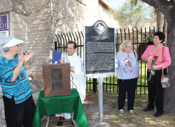 Marker at Sacred Heart Honors Life of Catholic artist