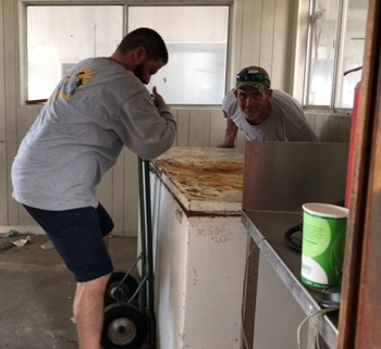 OLPH participated in Harvey Clean Up Saturday