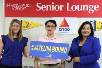 IWA senior receives $16,000 scholarship from CITGO