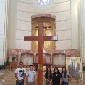Houston welcomes World Youth Day Cross, icon