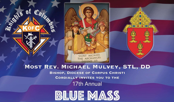 17th Annual Blue Mass at Sacred Heart Church in Mathis