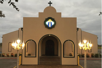 St. Mary's in Freer gets a facelift