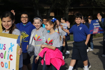St. Pius X kicks off NCSW with parade