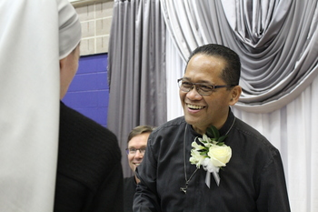 Father Rogel Rosalinas celebrates 25 years as a priest