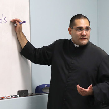 Seminarian gives thanks for his pastoral year
