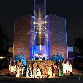 St. John Paul II Live Nativity