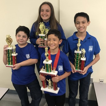 Students win chess tournament