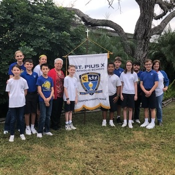 St. Pius X students wins DAR contest six years in a row