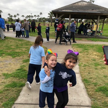 Holy Family ends NCSW with a Walk-a-Thon and Family Fun Day