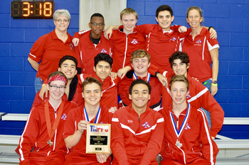 IWA swimmers place third at TAPPS State Championship