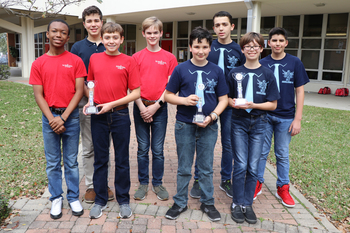 IWA Robotics Teams Wins Champions Trophy at Engineering Competition