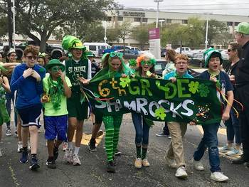 School celebrates their namesake with parade and pep rally