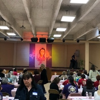 Women's conference reflects on Mary