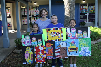 St. Pius X celebrates students art at their 2019 Art Walk