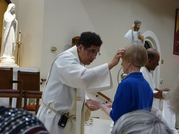 St. Peregrine Society of St. Joseph held a healing service