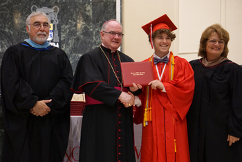 Class of 2019 celebrated and honored at Baccalaureate Mass