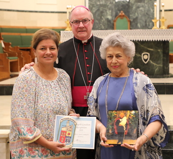 Parishioners recognized for joyful and humble service
