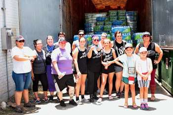 Pro-life women deliver semi-truck full of supplies, $72,000 to the border
