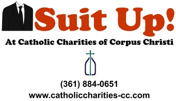 Suit Up at Catholic Charities