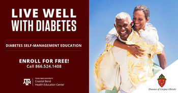 CANCELLED: 'Live Well with Diabetes,' a Diabetes Self-Management Education