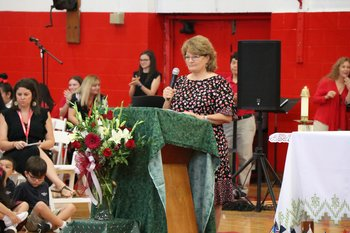 IWA remembers IWBS foundress and 9/11 during campus-wide Mass