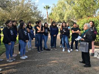 Holy Family youth group seeks grace and fellowship on pilgrimage