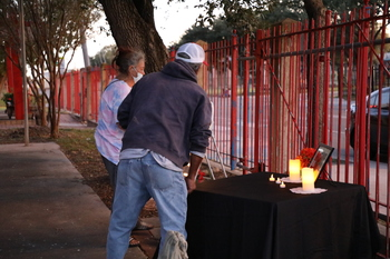 Area homeless remember their brother