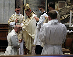Two Catholic U.S. Military Chaplain Candidates ordained Transitional Deacons in Rome
