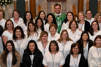 ACTS retreat for women held at Our Lady of Mount Carmel Parish