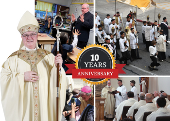 Ten years as our bishop