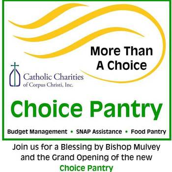 Blessing and Grand Opening of Catholic Charities' new Choice Pantry
