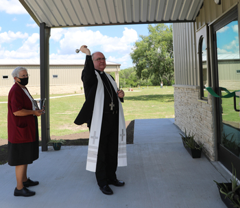 Blessing and dedication of Shalom Place