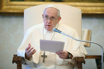 Pope Francis prays for the soul of George Floyd and for peace and justice in US