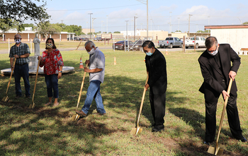 St Paul the Apostle Parish breaks ground on new religious education addition
