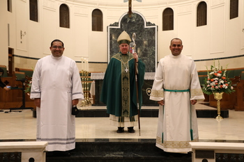 Two seminarians accepted into Rite of Candidacy