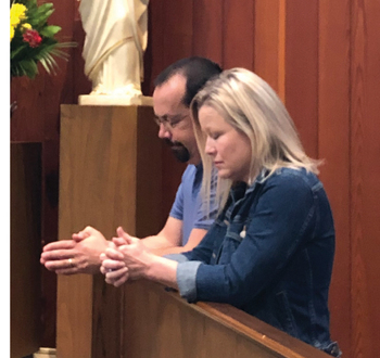 Marriage is a journey of faith, a witness to others of God's love