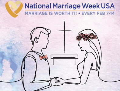 National Marriage Week will be from Feb. 7-14