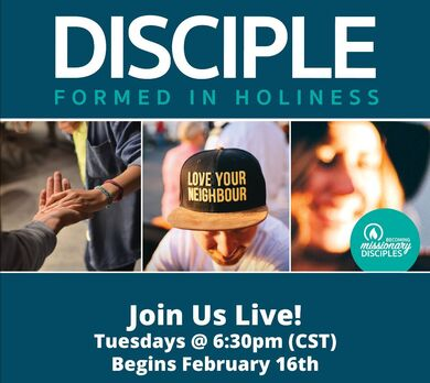 Disciple Formed in Holiness