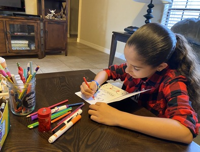 IWA student author gets two books published