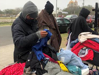 Catholic Charities help save lives during the winter freeze