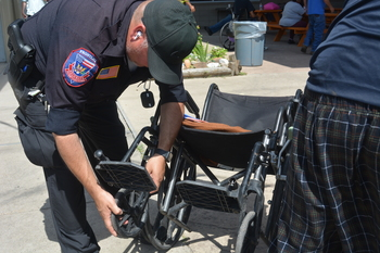 Area agencies offer services at resource fair for homeless