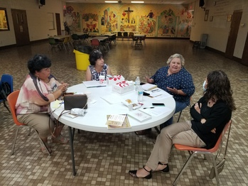 Youth Ministry leaders held first in-person meeting since the pandemic