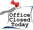 Office Closed -- New Year's Day