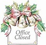 Office Closed -- Christmas