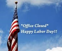 Office Closed -- Labor Day