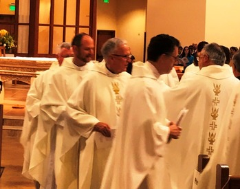 Chrism Mass at St Vincent de Paul Parish